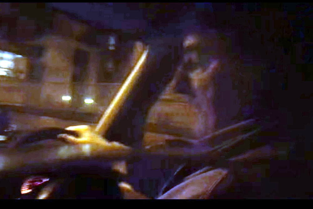 The original video went viral, and sparked a manhunt for the mysterious driver