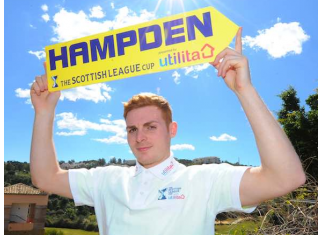 Fraser Fyvie pictured during the build up for the 2016 League Cup final | Hibs news