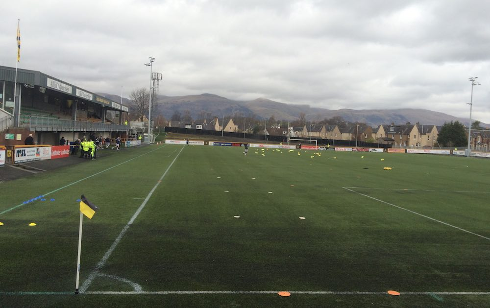Alloa Stadium