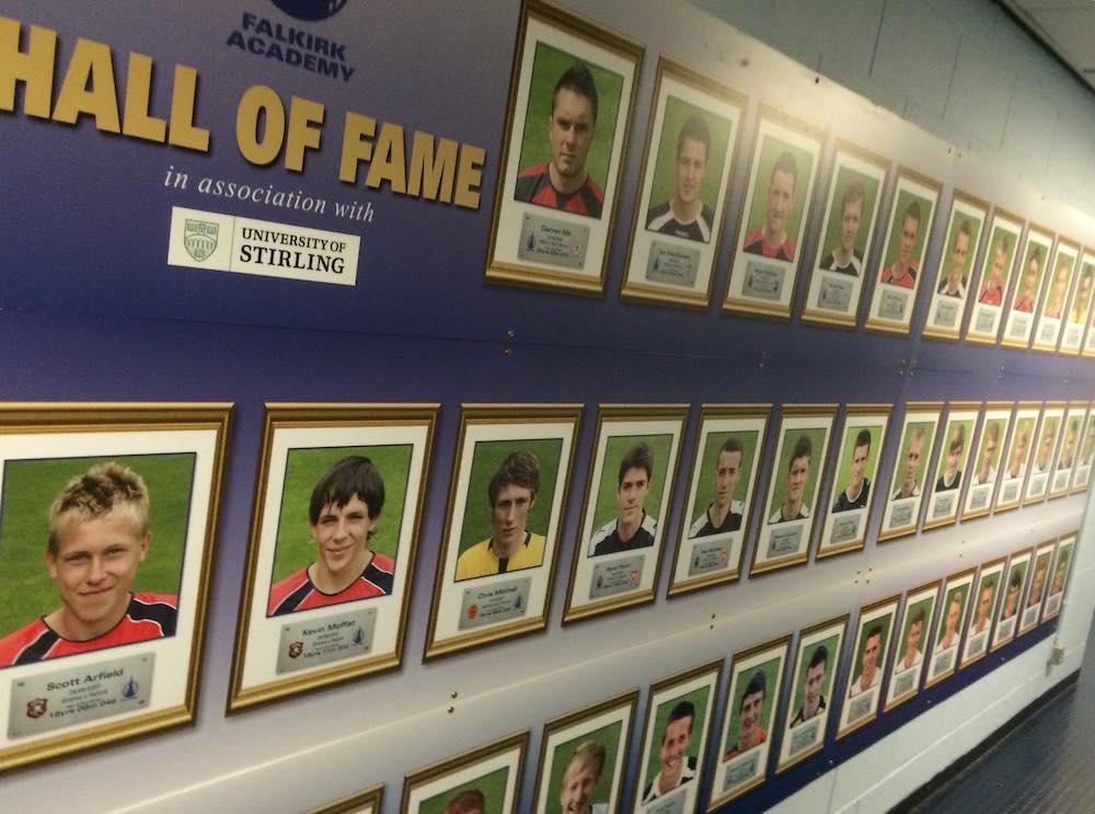 Falkirk hall of fame