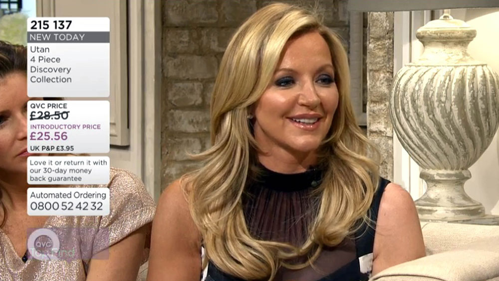 Lady Mone appeared on QVC promoting her self-tan range
