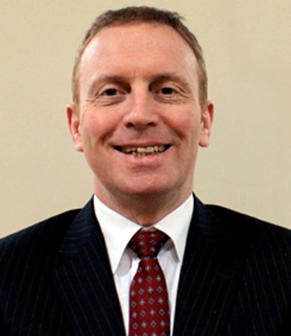 Patrick Statham, a consultant neurosurgeon in Edinburgh