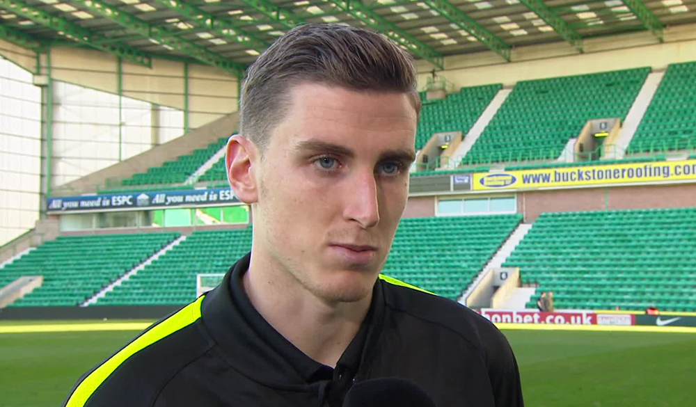 Hibs stalwart and Scotland debutant Paul Hanlon | Hibs news