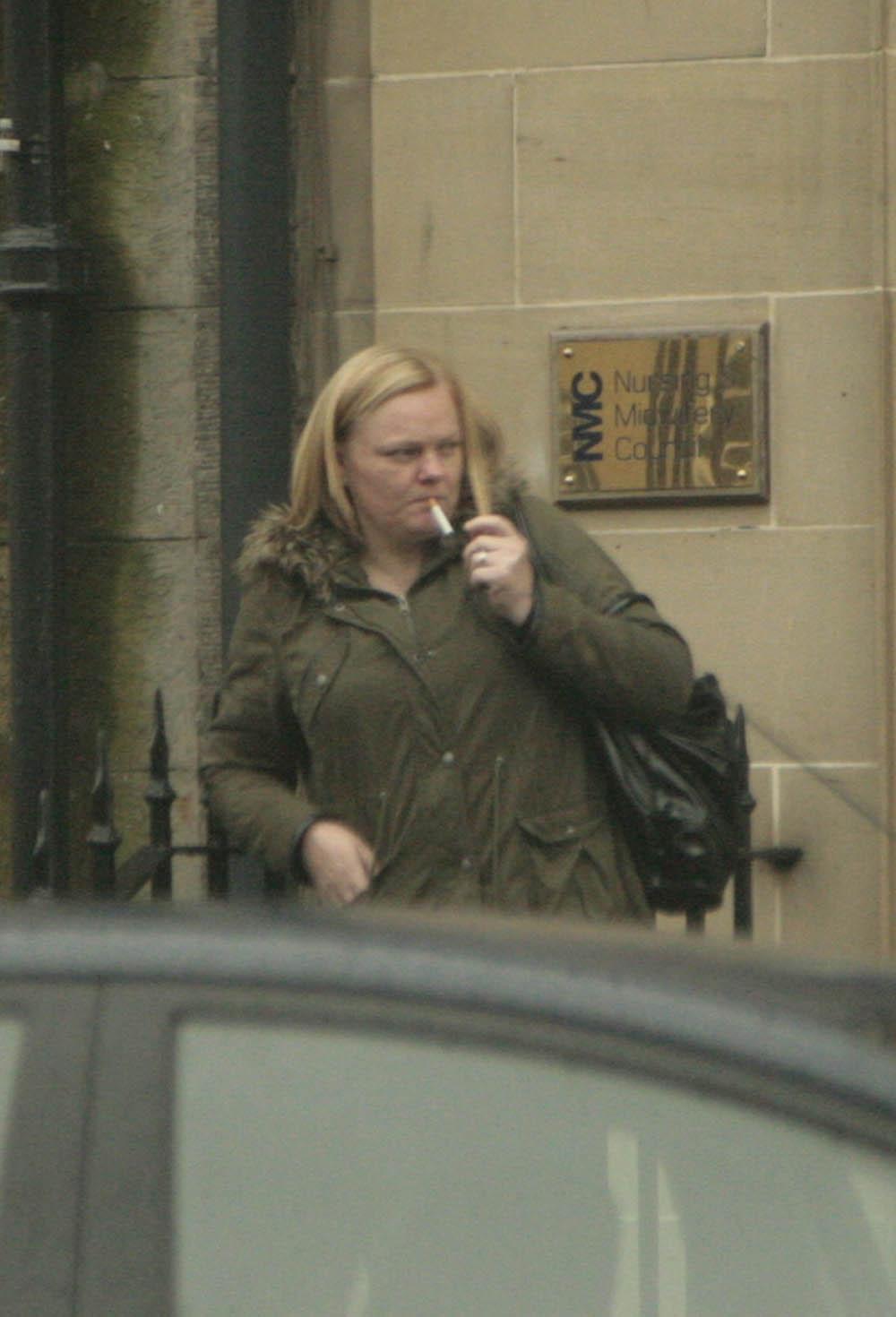 Alison Cochrane smoking