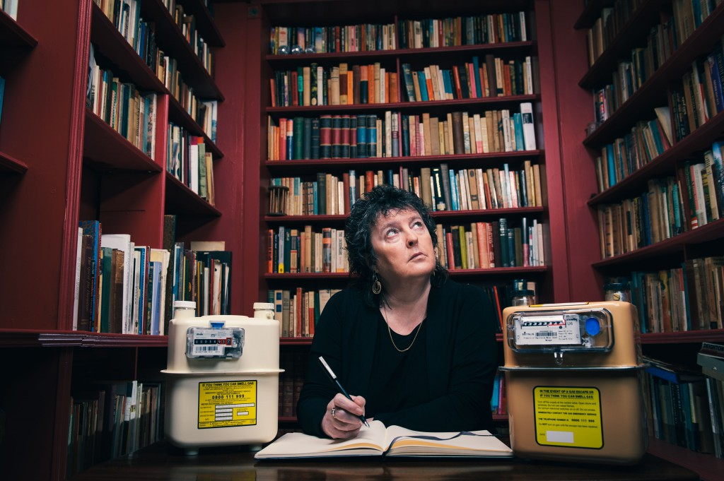 Poet Laureate Carol Ann Duffy photographed for Smart Energy UK