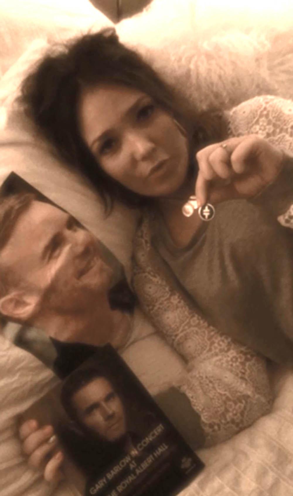 Barlow selfie