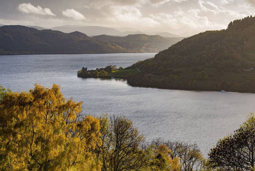 It offers front-row seats to Nessie's stomping ground