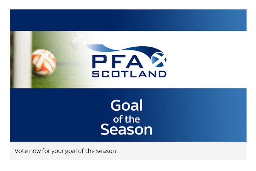 PFA Scotland goal