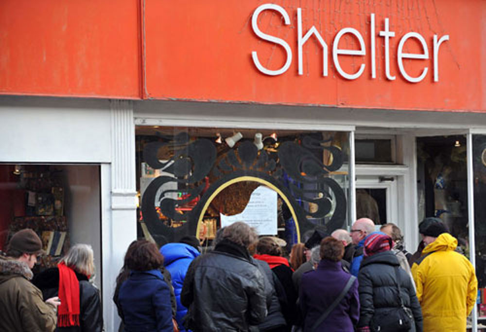 Shelter will benefit from the £21,000 donation