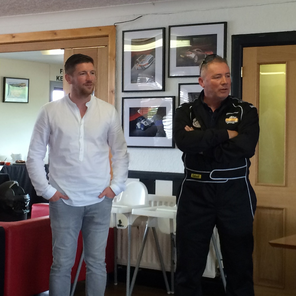 Mark Wilson was speaking at a Ladbrokes Euro 2016 event at Knockhill Racing Circuit, where he was joined by Ally McCoist, Willie Miller, Murdo MacLeod and Jon Daly