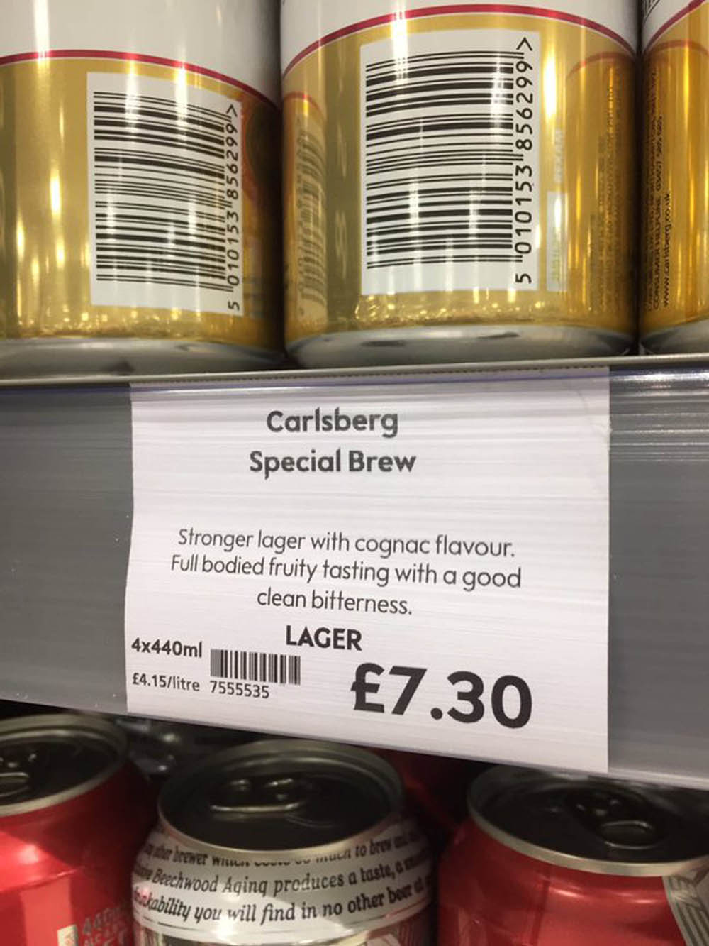 Waitrose said they provide tasting notes for all their beers