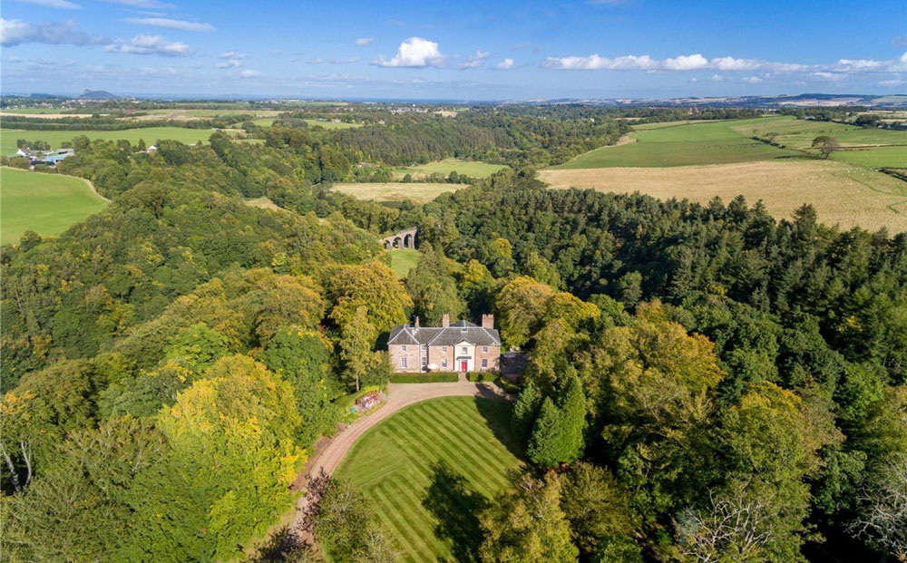 Firth house is on the market with Savills