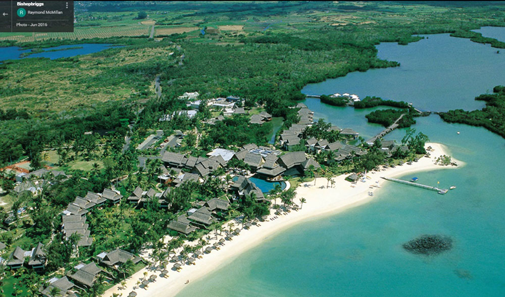 Scots would have to fork out over £1,000 to visit the resort in Mauritius