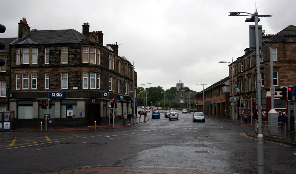Bishopbriggs town centre