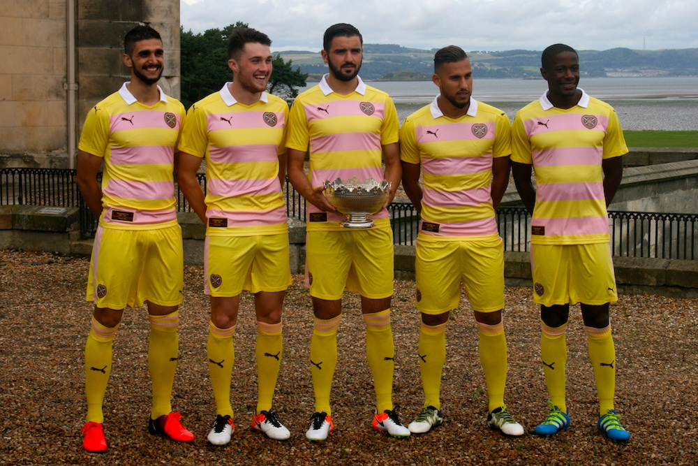 Hearts Rosebery strip
