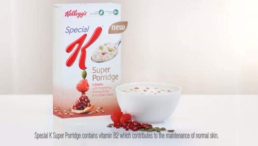 One of the adverts which caused a complaint (PIC: Kellogg's UK & Ireland)