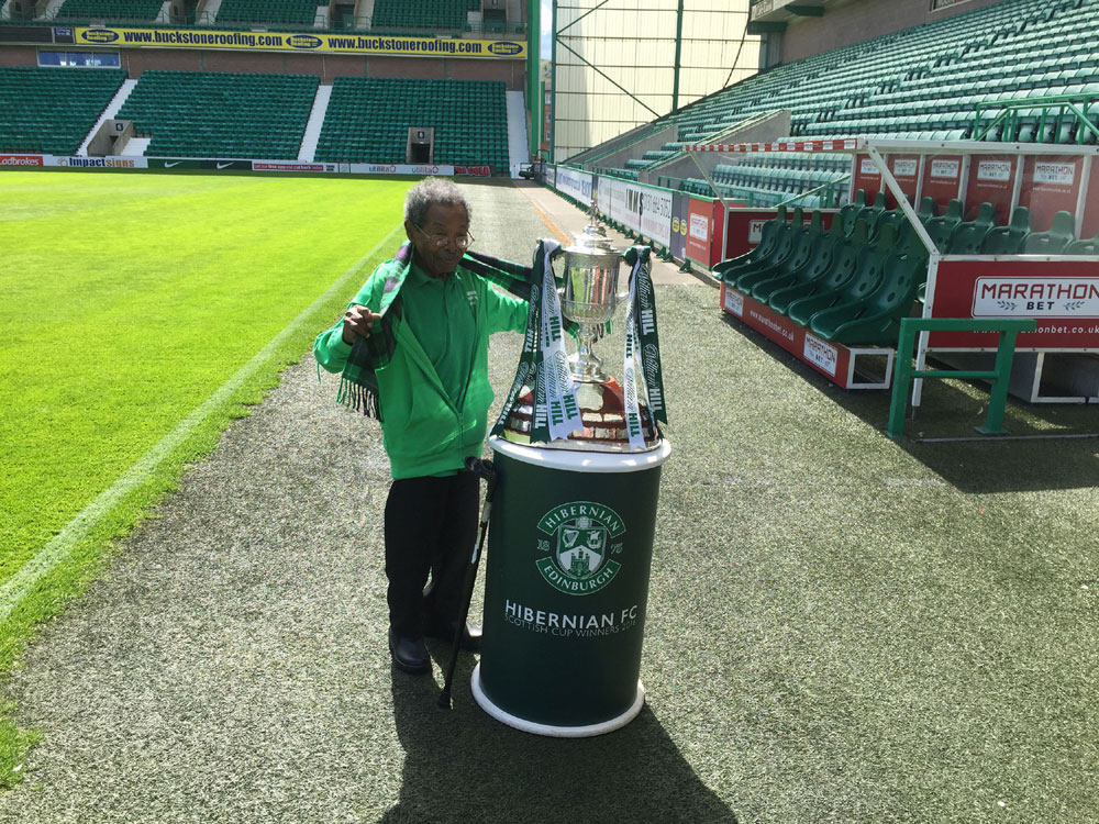 Sam Martinez finally got his hands on the cup
