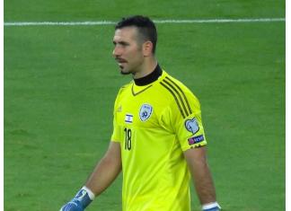 Ofir Marciano playing for Israel | Hibs news