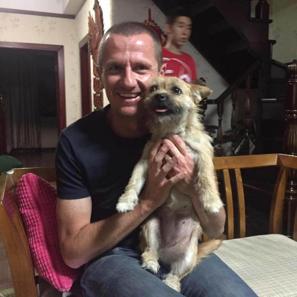 A HEARTWARMING video shows the moment Gobi the missing dog was reunited with the runner who wants to give him a new home in Scotland. Stray pup Gobi had been lost in Urumqi, China for over a week ago after running off just days before she was due to begin her journey to Britain. Athlete Dion Leonard planned to adopt the lovable pooch and bring her back home to Edinburgh after the pair struck up an unlikely friendship. The inseparable pair became the stars of a Gobi desert marathon after being spotted running alongside each other during the gruelling 250km marathon in June. But in a remarkable turn of events, the four legged friend went missing eight days ago when she ran out of an open door while being looked after at a friends house. At that point, almost £10,000 was raised to help Dion and volunteers search for the pup. Dion, 41, flew back to China last week to head up the search. But last night (WED) after eight days on the run, a video was shared showing the twosome finally reunited and sharing their first moments together.