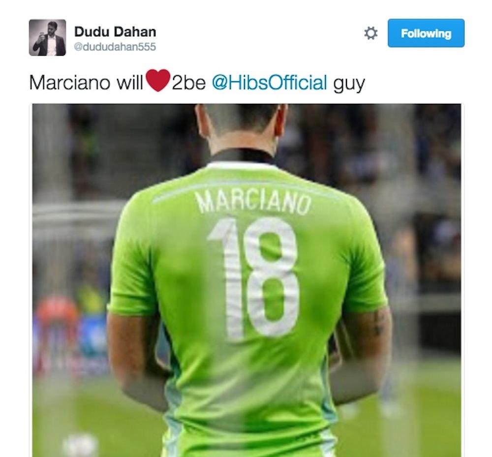 Dudu Dahan tweet