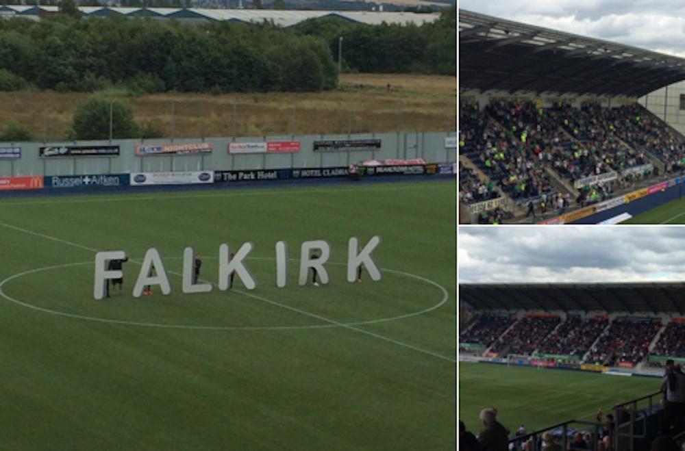 Falkirk V Hibs