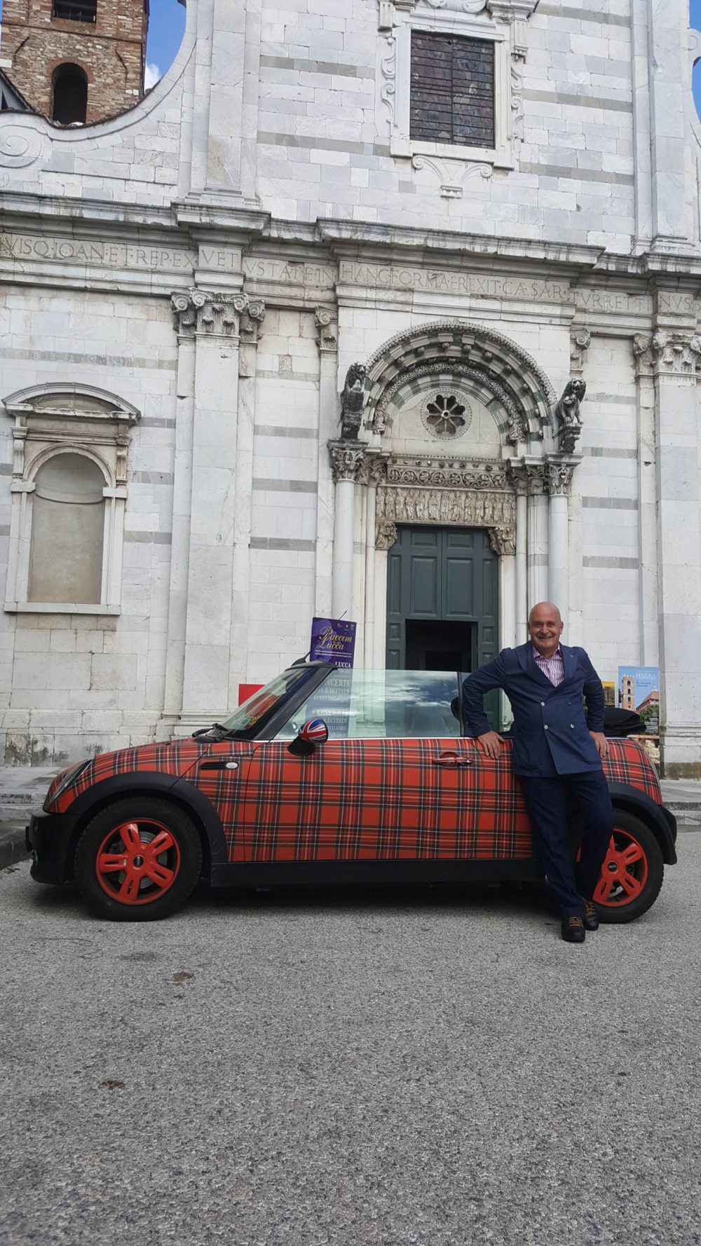 "His mini, hand-painted by a local artist in Royal Stewart tartan AN Italian opera conductor has staked a claim to being Scotland's biggest superfan - after visiting the Edinburgh Tattoo for the 23rd time in a row. Professor Andrea Colombini drives a Tartan mini, eats Angus beef imported specially for him by his local restaurant and organises pipe band concerts in his home town in Tuscany. The 48-year-old drinks Ardbeg whisky, eats Scottish scallops and Cranachan, and has filled his home in Lucca with Scottish paintings, tartan rugs, and the headdress worn by a Victorian Scots soldier. Andrea has taken his love for Scotland into his professional life by incorporating bagpipes and drummers into his Italian orchestras. He even uses Scottish slang such as ""braw"" and signs off emails with ""Alba Gu Brath - Gaelic for Scotland forever. Remarkably, he has managed to visit Edinburgh every year since 1993 to watch the annual tattoo on the castle esplanade."