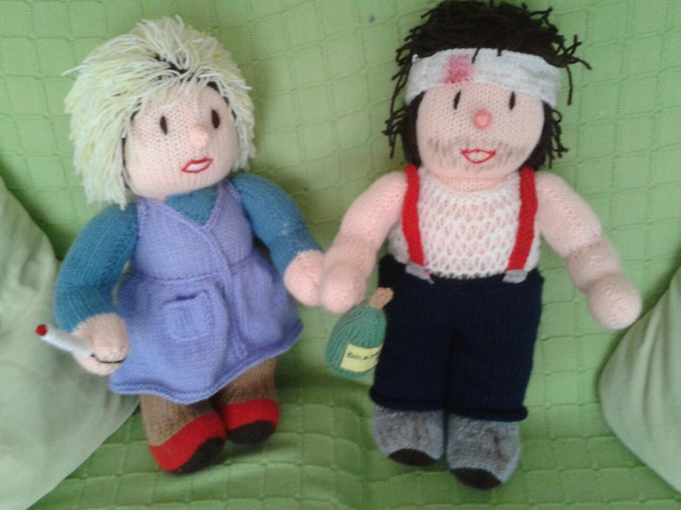 Rab C Nesbitt doll