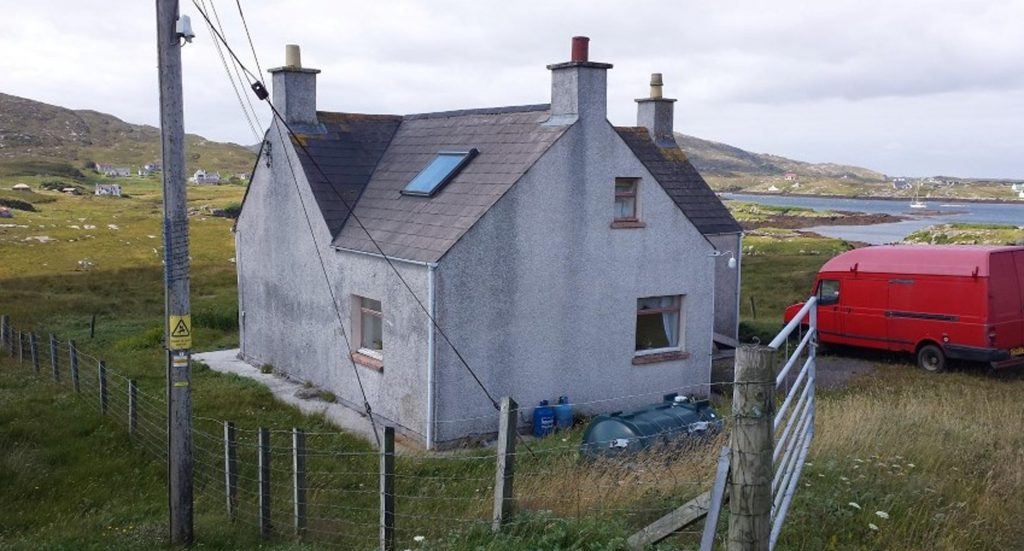 A BARRA cottage has become an unlikely online sensation - attracting 10 times more views than there are people living on the island.
