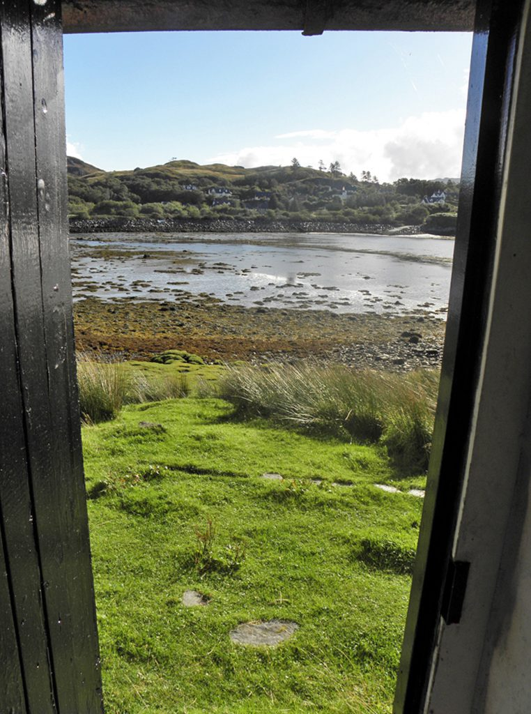 The 300-year-old property overlooks the spectacular Silver Sands of Morar in the north-west Highlands of Scotland.