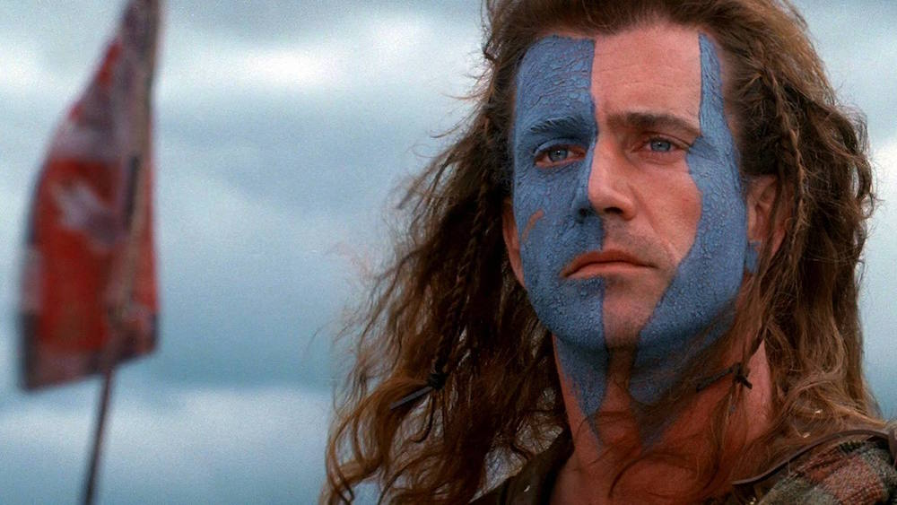 Mel Gibson played Braveheart in the 1995 blockbuster