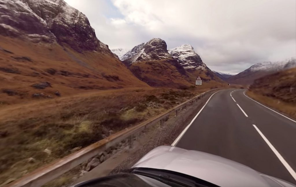 "INCREDIBLE footage has captured a drive on the ""best road in Scotland"" through Glen Coe - in 360 degrees."