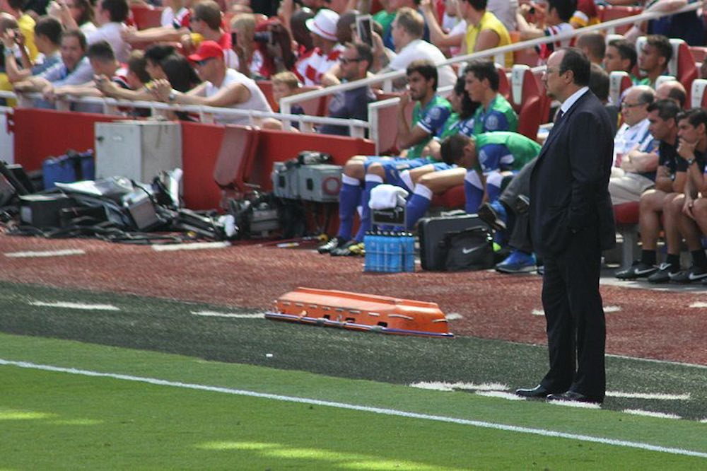 Benitez has been a major influence in Cathro's recent development (Pic: Ronnie Macdonald)