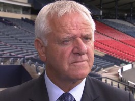 Jim Jefferies, former Hearts boss, speaks to the media at Hampden | Hearts news