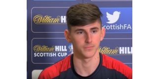 Emerson Hyndman meets the media while at Rangers | Hibs news