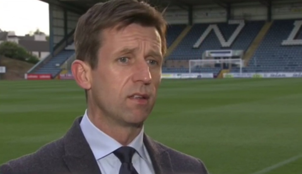 Neil McCann during his stint as manager of Dundee   Hearts news