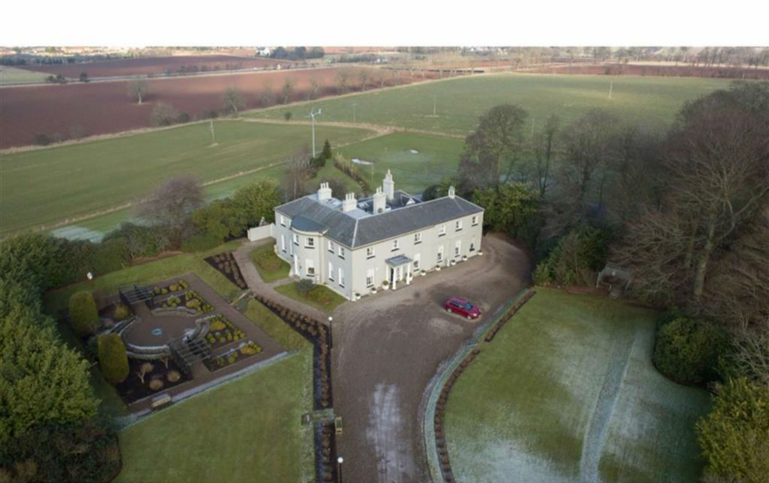 Scottish lodge complete with baronial title gets price tag