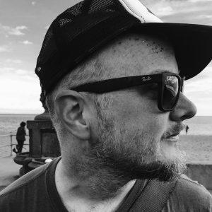 Paul Lambie, organiser of Portobello's Busk on the Beach festival