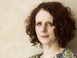 Author Maggie O'Farrell at Edinburgh International Book Festival
