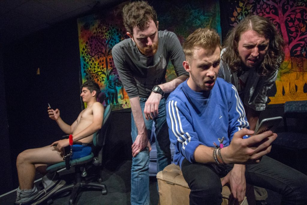 The Cast of Brothers, by 203 Theatre Company, at the Edinburgh Fringe 2017