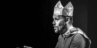 Andy Cannon in Is This A Dagger The Story of Macbeth