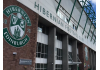 The signage on the from of Easter Road, the home of Hibs | Hibs news