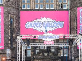 Gilded Balloon, one of the main venues during the Fringe festival © Wullie Marr/DEADLINE NEWS