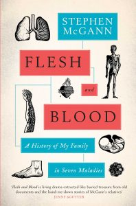 The cover of Flesh and Blood by Stephen McGann