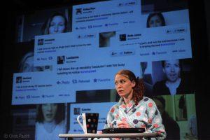 Performance of Shame by Tidy Carnage at Edinburgh Fringe 2017
