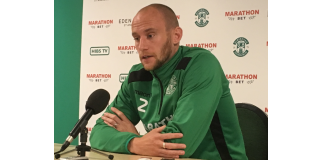 David Gray addresses the media | Hibs news