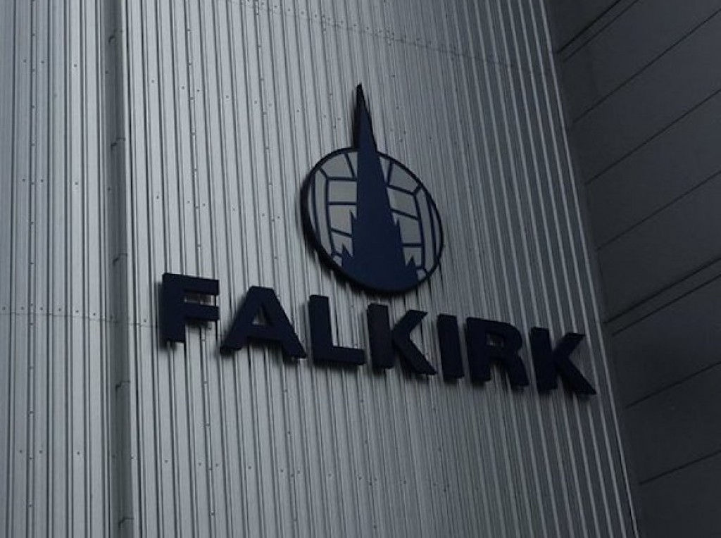 A picture of Falkirk's team logo- Scottish Football news