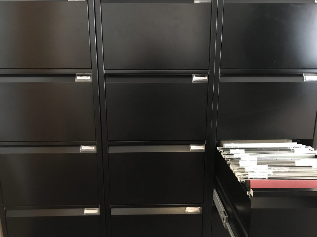 Filing cabinets © DEADLINE NEWS