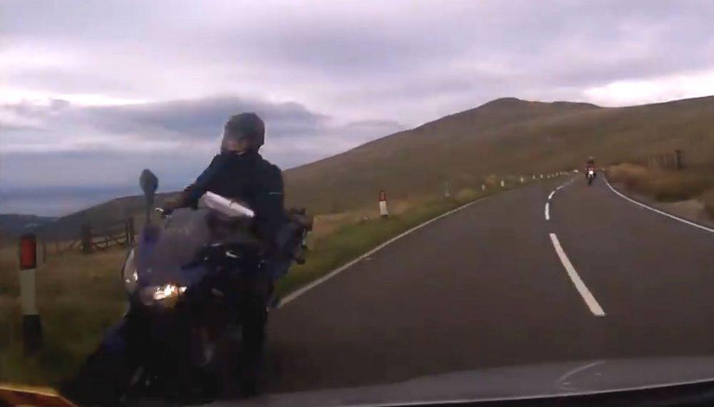 Motorcyclist-Viral Video News