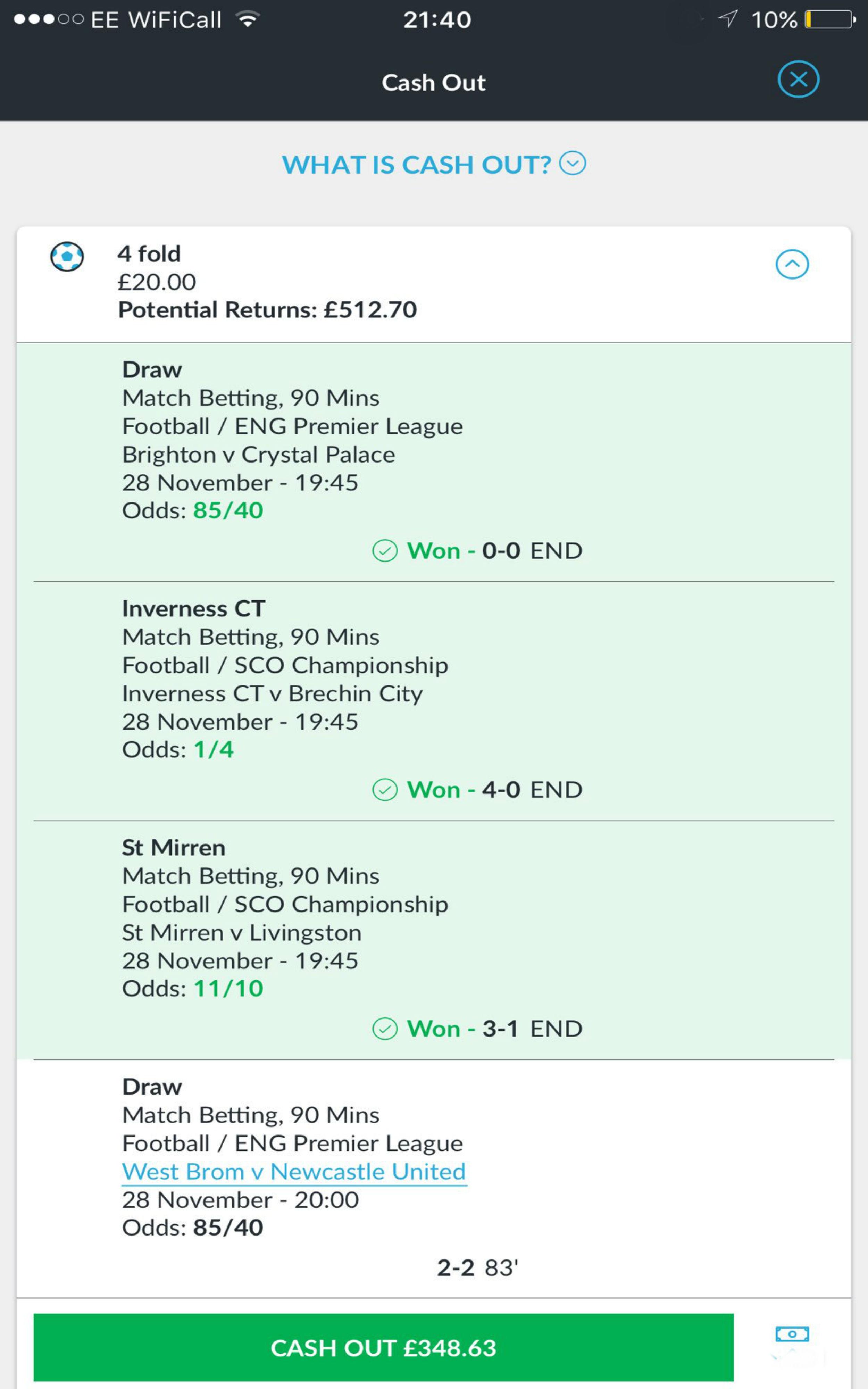 Winner betting ct esport betting websites