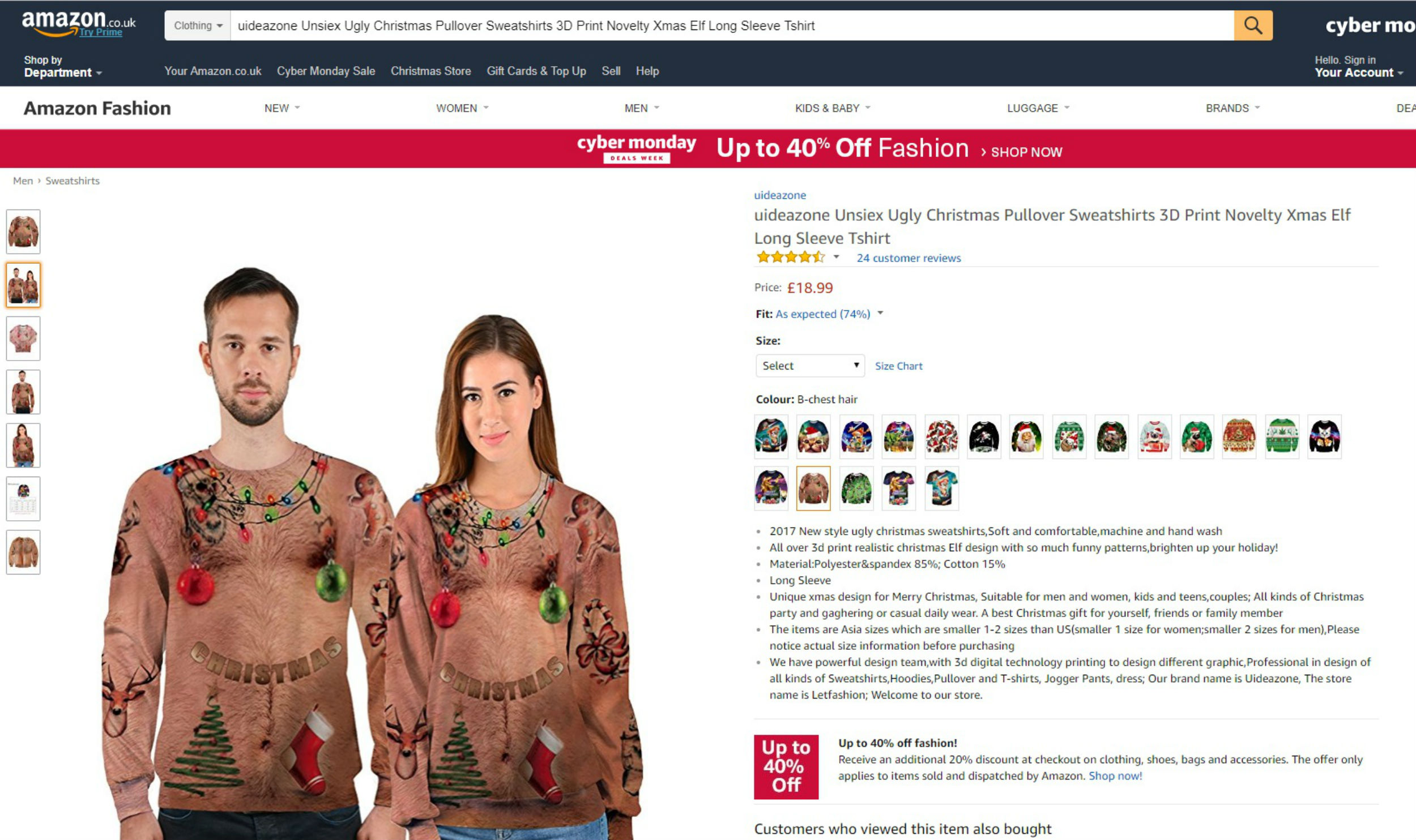 Pictures of the ugly jumpers -Consumer News Scotland